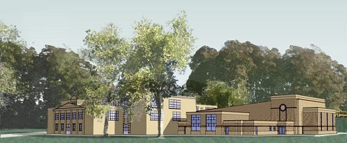 Artists Rendering of new Exterior View