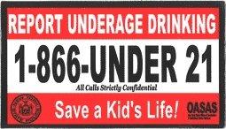 Report Underage Drinking