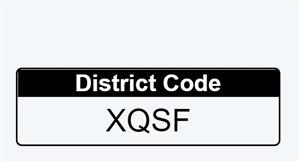 District Code